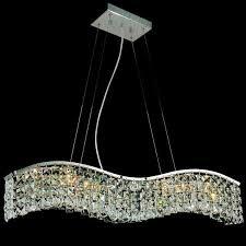 modern rectangular chandelier image