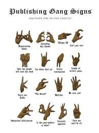 Street Gang Hand Signals In 2019 Gang Signal Hand Signals