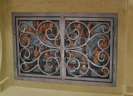 arched glass fireplace doors. Wood Burning Fireplace Glass Doors Arched For Opening Home Depot S