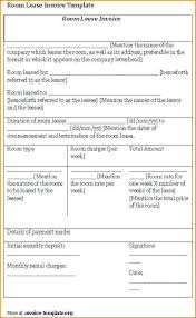 Sample Room Lease Agreement Standard Roommate Contract Template ...