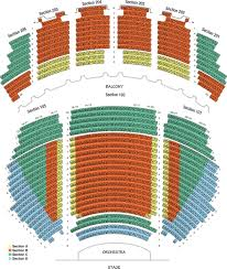 Seating Chart Erie Philharmonic