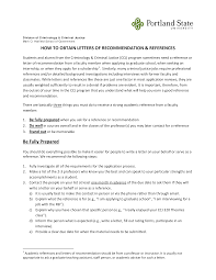 Asking For A Letter Of Recommendation For Graduate School Sample Letter Of Recommendation From Employer Or How To Ask For A Grad