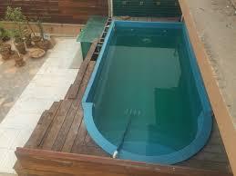 ready made fiber swimming pools