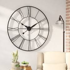 office large size floor clocks wayfair. Grafton Oversized 45\ Office Large Size Floor Clocks Wayfair S