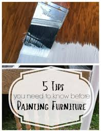 best paint for furnitureBest Type of Paint for Furniture  Refresh Living