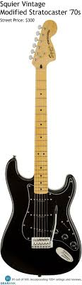 17 best images about fender guitars stevie ray squier vintage modified stratocaster 70s it has a basswood body maple neck and