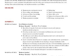 Phenomenal Business Analyst Resume Samples Templates Cv Sample Pdf ...