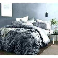dark duvet cover knots handcrafted texture ties gray solid purple bedding sets queen ti sheets king light deep ultra violet purpl