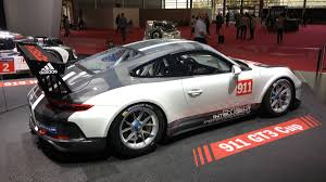Porsche 911 GT3 Cup races into Paris auto show