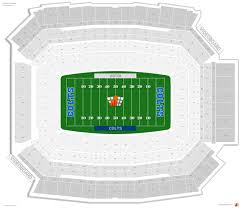 Indianapolis Colts Seating Chart Indianapolis Colts Seating Guide Lucas Oil Stadium