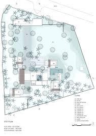 house site plan miller by autocad floor indiana dan kiley