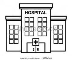hospital building clipart.  Hospital On Hospital Building Clipart