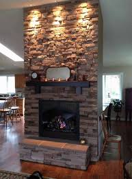 cultured stone fireplace 1