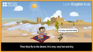 Carpet The Ali Magic And Stories Kids British Learnenglish UPPqtnr