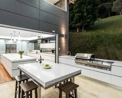 16 Of The Chicest Outdoor Kitchens Ever. Outdoor Kitchen DesignIndoor ... Amazing Ideas