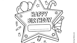 Happy Birthday Coloring Sheets Freetable Pages For Adults Tot Free