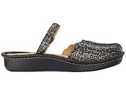 alegria women s leather mary jane flats tuscany leopard stripe eu 36 wide
