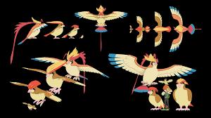 Size comparison through evolutions #6: Pidgey : pokemon