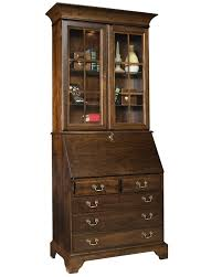 Berghoff Secretary Desk with Hutch