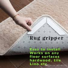 2018 ruggies rug carpet mat grippers non slip grip corners pad anti skid reusable washable silicone tidy non slip grip corners pad non slip mat bath mats