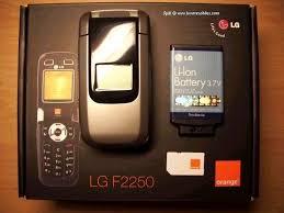 Фотографии LG F2250 сотовый телефон ...