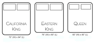 eastern king mattress. Unique Eastern King Mattress Captivating Cal Bed Dimensions California Vs Full Size Queen 1