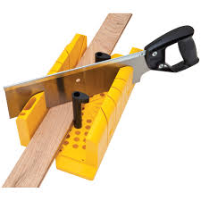 clamping miter box with saw lamp design ideas