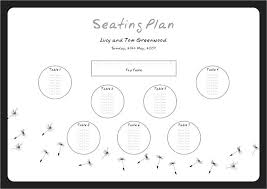 free round table seating chart template designs arrangement party wedding plan excel char table seating plan