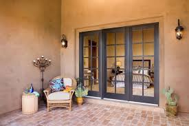 patio door swinging wood adobe style 800x600f