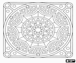 Kleurplaten Mandala Kleurplaat 2