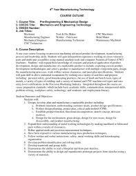 Machinist Resume Templates Cnc Operator Sample Job Description Machinist Resume 20