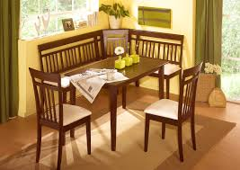 ... Baffling Corner Nook Dining Sets And Breakfast Booth Furniture With  High Noon Corner Nooks And Dining ...