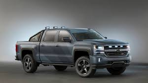 2016 Chevy Silverado Spec-Ops pickup truck news and availability