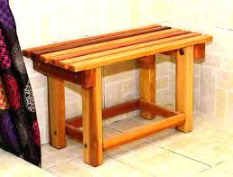 cedar shower bench wooden shower seat wooden shower seat wooden shower seat compliant teak seats and