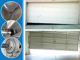 garage door off trackGarage Door Off Track  cable springs opener  877 2226310