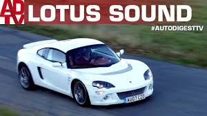 LOTUS EUROPA S: Sound & On Board Drive - YouTube