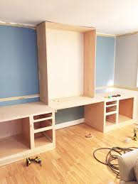built in desk reveal, home decor, home improvement, home office, how to