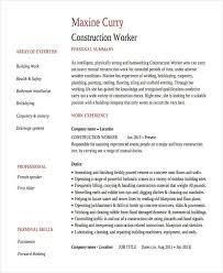 Basic Work Resume