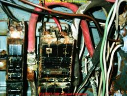 rust and corrosion in electrical panels, a study and report on electric meter socket lugs at Bad Electric Meter Wiring
