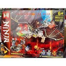Lego 71721 Ninjago - , MG 211 , PRCK 61067 ( Xếp Hình Rồng Xương Địa Ngục  920 mảnh )