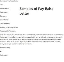 raise salary letter pay rise request letter requesting a pay raise requires careful with