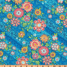 Amy Butler Home Decor Fabric Amy Butler Lark Dreamer Heirloom Blue Sky Discount Designer