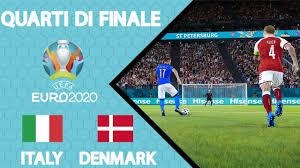 EURO 2020 | ITALIA - DANIMARCA | QUARTI DI FINALE