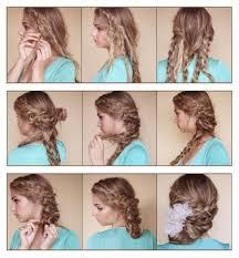 Photo Coiffure Mariage Simple Et Rapide Coiffure Cheveux