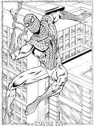 Small Picture Spider Man Color OnlineManPrintable Coloring Pages Free Download