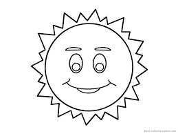Sun Template Printable Spring Sun Printable Coloring Pages Sun Template For Kids