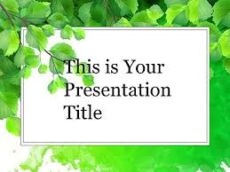 Forest Google Slide Themes For Presentations Download Now