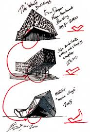 rough architectural sketches. Models And Sketches Rough Architectural I