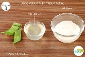 aloe vera gel heals and soothes skin 2 tablespoons