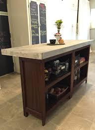 diy bookcase kitchen island.  Diy JLMDESIGNSDIYKITCHENISLANDSide In Diy Bookcase Kitchen Island